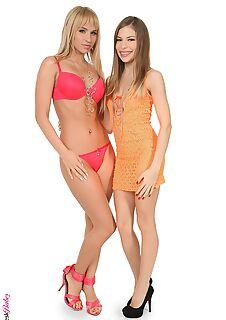 Duo with Avril Sun and Aleska Diamond